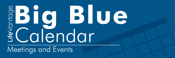 LifeVantage Big Blue Calendar